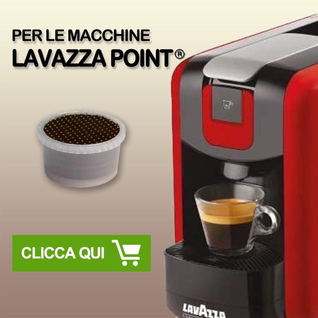 Tasto link per capsule compatibli sistema espresso point