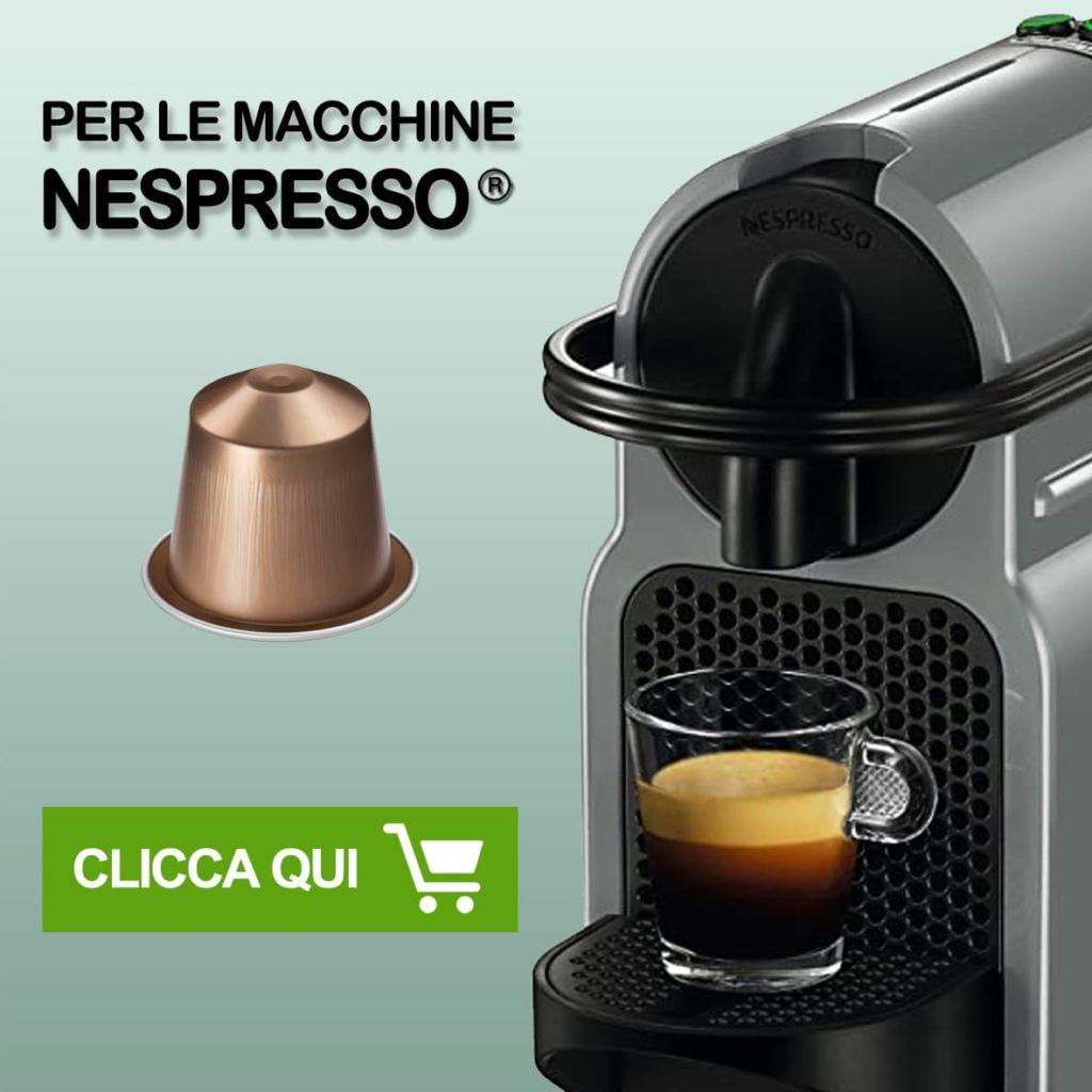 capsule compatibili 8 caffè bottone per sistema Nespresso*